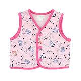 【愛的世界】LOVEWORLD 溜冰小女童系列純棉舖棉兩面穿背心/6個月~2歲-台灣製-