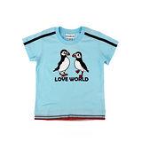 【愛的世界】LOVEWORLD 海鸚鵡系列純棉圓領短袖T恤/6~10歲-台灣製-