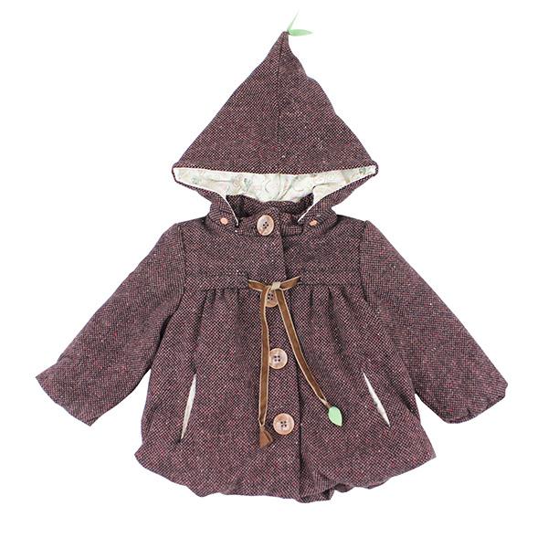 【愛的世界】pappa&ciccia 寓言故事系列鋪棉混羊毛外套/1~4歲-中國製-