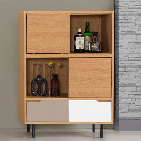 《Homelike》莫閣2.7尺收納櫃