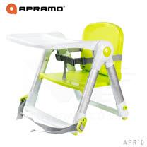 英國《Apramo Flippa》可攜式兩用兒童餐椅(糖果綠)