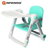 英國《Apramo Flippa》可攜式兩用兒童餐椅(糖果藍)