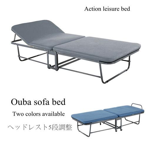 【ABOSS】Ouba 簡約收納沙發床(二色可選)