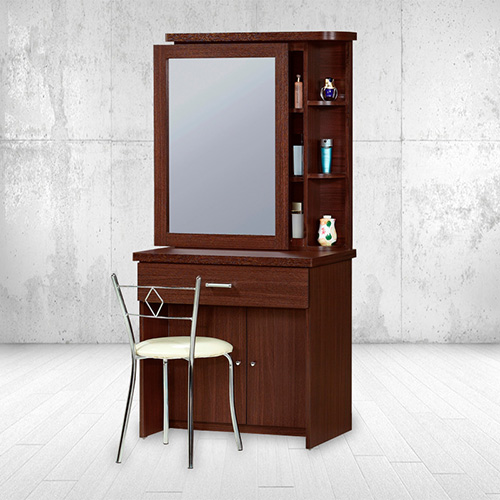 【ABOSS】秋野胡桃可拉式化妝台組(含椅)/M06+A10