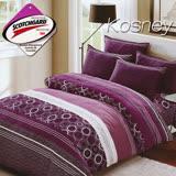 《KOSNEY 安第斯》 涼感吸濕排汗雙人床包枕套組