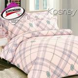 《KOSNEY 雲夢》 涼感吸濕排汗單人床包枕套組