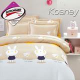 《KOSNEY 童趣》 涼感吸濕排汗單人床包枕套組