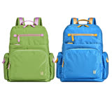 【SUMDEX】平板輕巧後背包NOD-770(綠色LS)