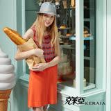 【克萊亞KERAIA】俏麗長版針織背心洋裝