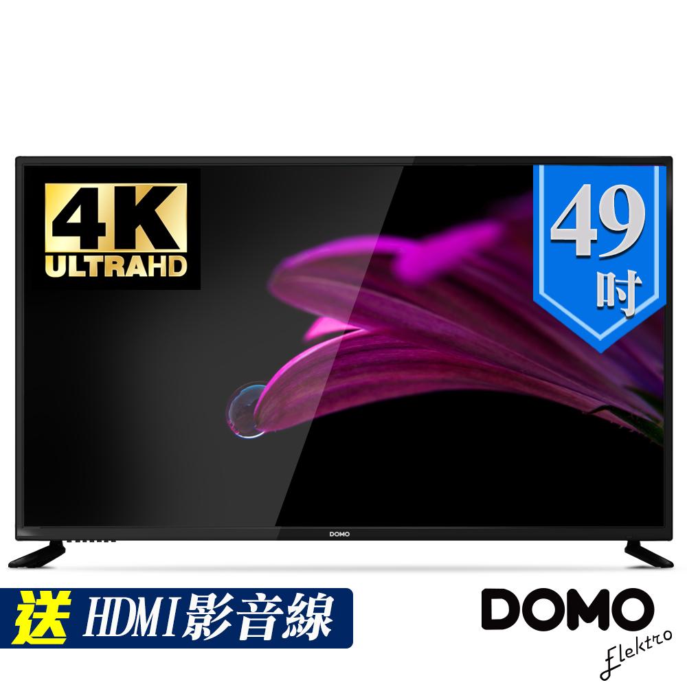 ~DOMO~49型 4K UHD多媒體HDMI 液晶顯示器 視訊盒 DOM~49A04K
