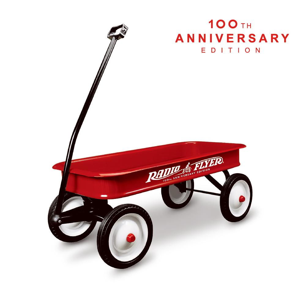 美國【RadioFlyer】飛行者復刻經典拖車(100週年紀念款)#18-100