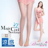 【BeautyFocus】台灣製冰涼感透明絲褲襪-6201膚色