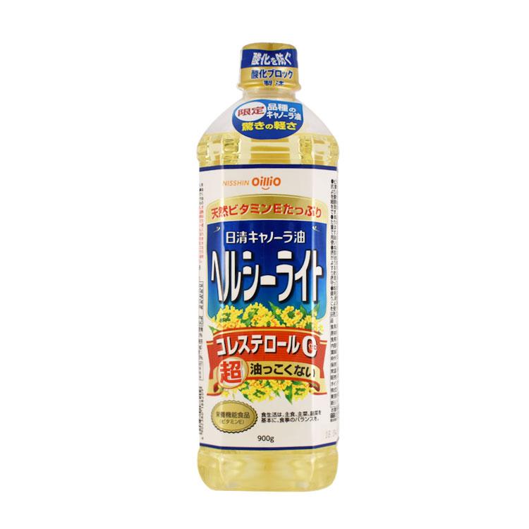 【日清】健康輕盈菜籽油 900G
