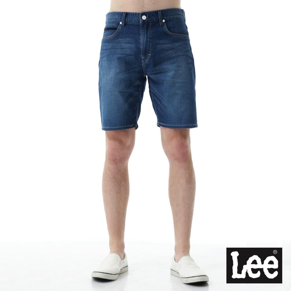 Lee 運動休閒刷色牛仔短褲 UR