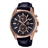 CASIO 卡西歐 EDIFICE 日系搶眼設計 藍寶石水晶 時尚紳士腕錶 EFB-302JGL-1A