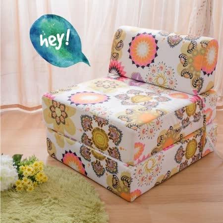 【ABOSS】韓式春風單人沙發床