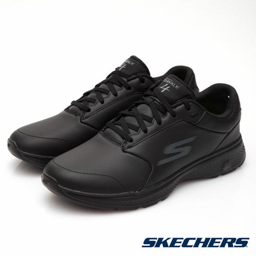 SKECHERS (男) 健走系列 GO WALK 4 - 54161BBK