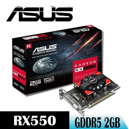 【ASUS華碩】ASUS RX550-2G 顯示卡 -friDay購物