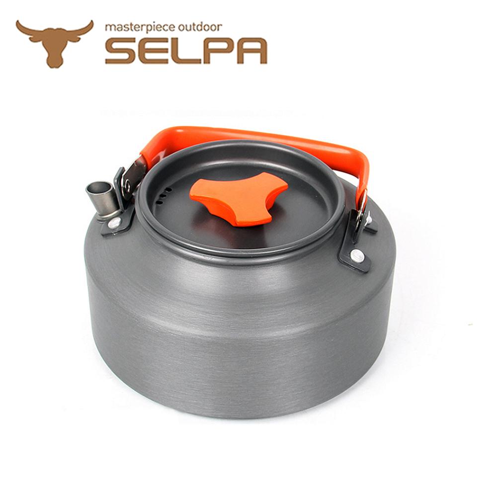 【韓國SELPA】1.1L鋁合金茶壺熱水壺泡茶壺(紅色)