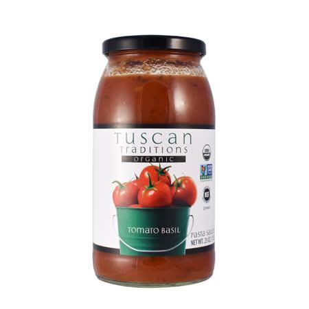 【TUSCAN TRADITION】有機蘿勒番茄義大利麵醬 709G