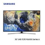 SAMSUNG三星 50吋 UHD 液晶電視 UA50MU6100WXZW