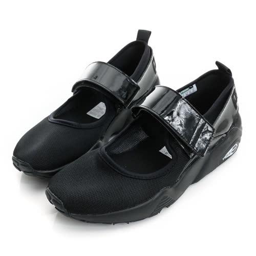 PUMA 女鞋 休閒娃娃鞋 黑 R698 MJ WNS - 36298101