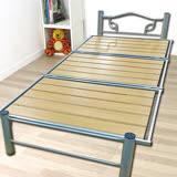 【KOTAS】可收納折疊高質感鋼管3尺單人床架