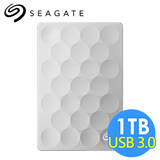 希捷 Seagate Backup Plus Ultra Slim 1TB 2.5吋行動硬碟 STEH1000300 白金