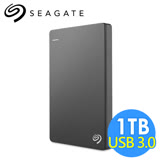 希捷 Seagate Backup Plus Slim 1TB 2.5吋行動硬碟 STDR1000300 黑色