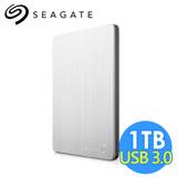 希捷 Seagate Backup Plus Slim 1TB 2.5吋行動硬碟 STDR1000301 銀色
