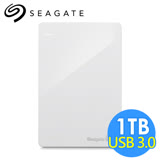 希捷 Seagate Backup Plus Slim 1TB 2.5吋行動硬碟 STDR1000307 白色