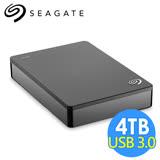 希捷 Seagate Backup Plus Portable 4TB 2.5吋行動硬碟 STDR4000300 黑色