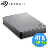 希捷 Seagate Backup Plus Portable 4TB 2.5吋行動硬碟 STDR4000301 銀色
