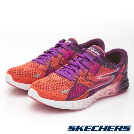 SKECHERS (女) 跑步系列GO MEB RAZOR-14119PRPK