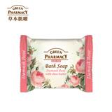 Green Pharmacy 草本肌曜 大馬士革玫瑰&乳油木果柔膚皂 100g (乾性肌適用)