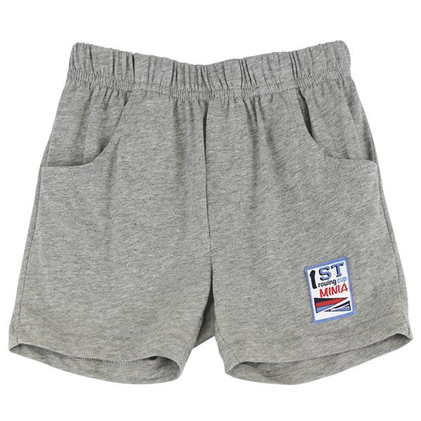 【愛的世界】MYBABY 賽艇系列 純棉休閒五分褲/1~3歲-台灣製-