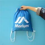 ≡MARIUM≡《束口背包》MARIUM LOGO SB-601730B