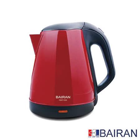 BAIRAN白朗 不銹鋼電茶壺1.8L FBET-D20