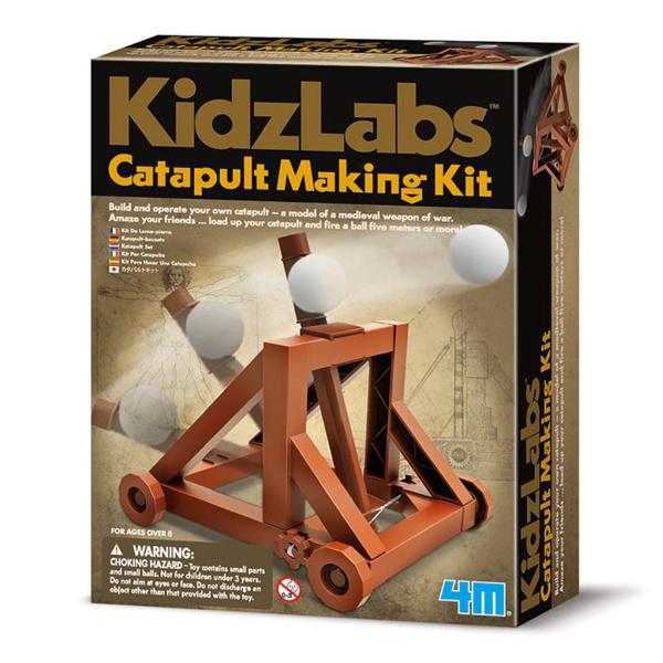 【4M】科學探索系列-攻城投石車 Catapult Making Kit 00-03385