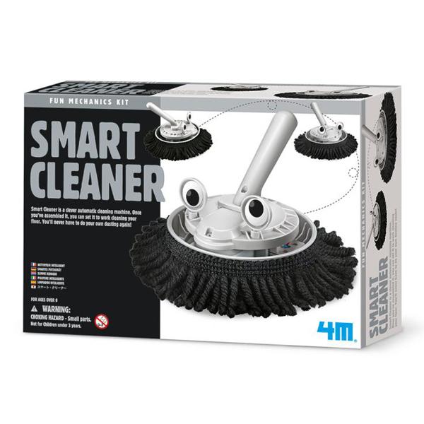 【4M】科學探索系列-掃地機器人 Smart Cleaner 00-03380