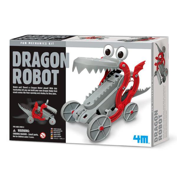 【4M】科學探索系列-快跑機械龍 Dragon Robot 00-03381
