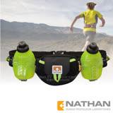 【美國 NATHAN】Trail Mix Plus 雙水壺腰包(600ml)/適補給訓練 三鐵 自行車 登山.運動.馬拉松.野跑.路跑/NA4637NBSY 黑