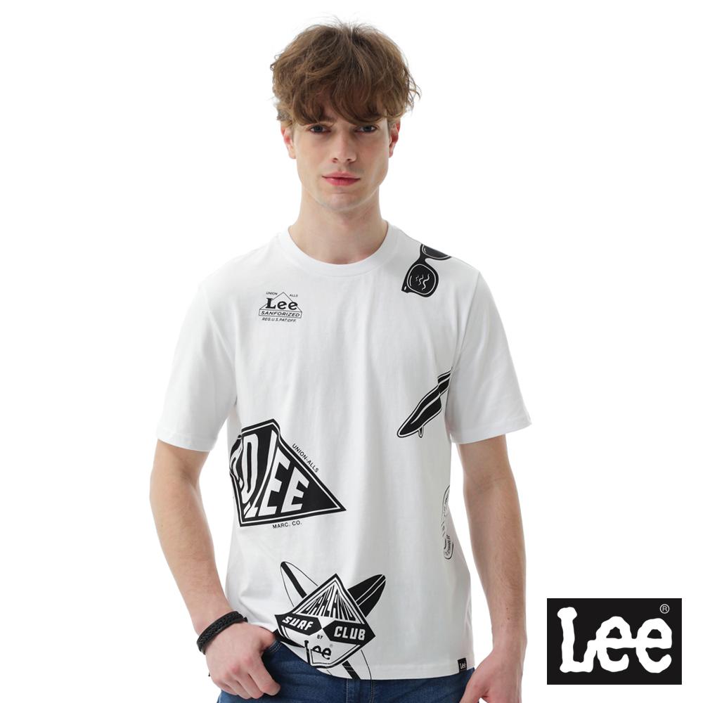 Lee印花短袖圓領TEE