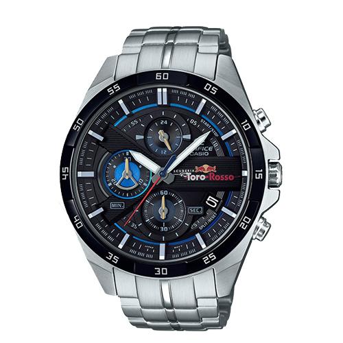CASIO 卡西歐 EDIFICE 限量聯名款 不鏽鋼錶帶男錶 EFR-556TR-1A