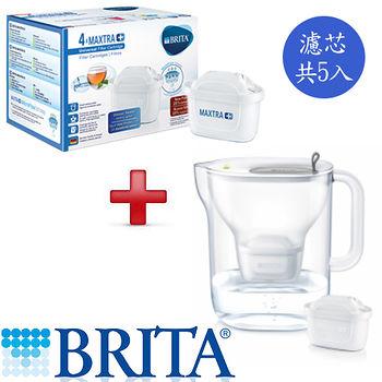 德國 BRITA Style純淨濾水壺+濾芯5入