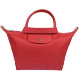 法國Longchamp Le Pliage Neo 折疊厚尼龍短把兩用包.紅 #1512