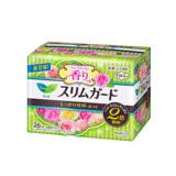 日本KAO速吸超薄碟翼衛生棉(玫瑰香)20.5cm-26枚