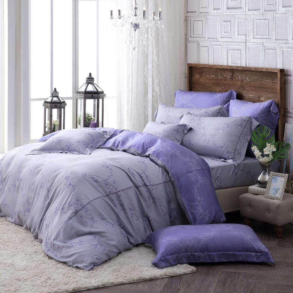 OLIVIA 《 安德魯 》 加大雙人床包枕套三件組 台灣棉天絲系列 全程台灣生產製作
