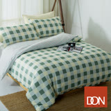 【DON 北歐格語】雙人四件式蜜絲絨兩用被床包組