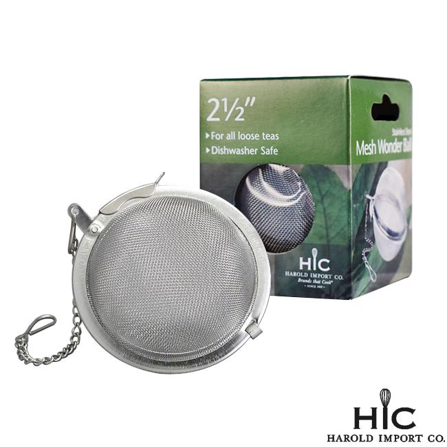 美國HIC 不鏽鋼S/S茶葉用濾球網-6.35cm